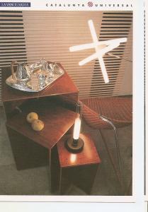 Postal 044574 : Lampara Olvidada (Pepe Cortes) lampara de sobremesa Sylvestri...