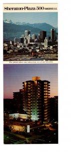 Sheraton Plaza 500, Vancouver, British Columbia, Membership Application