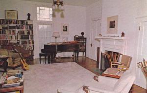 Inside Main House, Living Room, Connemara Farms, Flat Rock, North Carolina, 4...