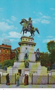 Virginia Richmond Equestrian Statue Of Washington