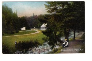 Scene in Victoria Park, Truro, Nova Scotia, Macfarlane