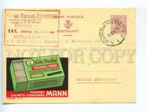 241383 BELGIUM 1967 year ADVERTISING Poudres MANN cachets
