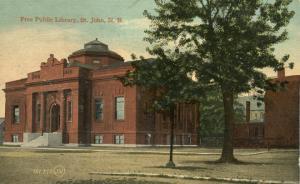 Free Public Library - Saint John NB, New Brunswick, Canada - DB