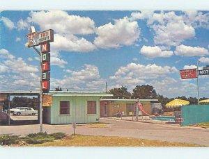 Pre-1980 MOTEL SCENE Hurst Texas TX AD9305