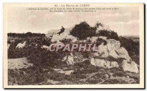 Old Postcard Stones Lemon