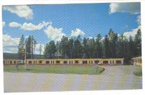 100 Mile Motel, Cariboo Highway, British Columbia, Canada, 1940-1960s