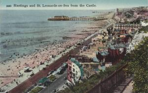 Hastings and St. Leonards-on-Sea from the Castle, East Sussex, England, Unite...