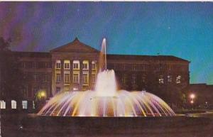 Indiana West Lafayette Loeb Memorial Fountain Purdue University 1973