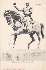 Monumento A Napoleone III, Milano (Lombardy), Italy, 1900-1910s