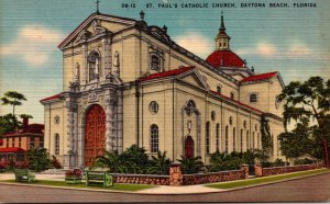 Florida Daytona Beach St Paul's Catholic Church