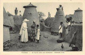 Ghana Gold Coast Navrongo Postcard