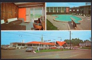 NY WATERTOWN Howard Johnson's Motor Lodge Interstate Highway 81 1950s-1970s