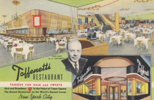 NEW YORK CITY, New York, 1944; Toffnetti Restaurant, 3-views