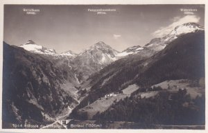 RP; BERISAL, Valais, Switzerland, 1920-1940s; Route Du Simplon, Bortelhorn, F...