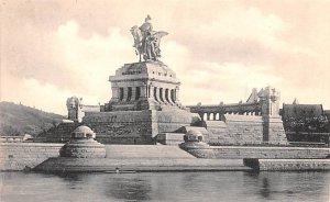 Kaiser Wilhelm Denkmal am Deutschen Eck Koblenz Germany Unused