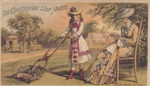 TC: The Chapter Oak Lawn Mower , 1880-90s