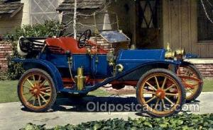 1910 hupmobile runabout non postcard backing, Antique Classic Car, Old Vintag...