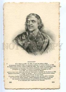 234214 Jacques-Benigne BOSSUET French bishop Vintage postcard