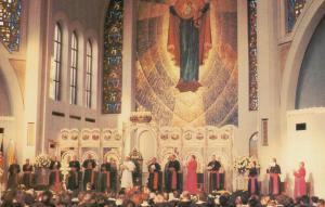 PHILADELPHIA, Pennsylvania, 1979; Pope John Paul II at Ukranian Cathedral
