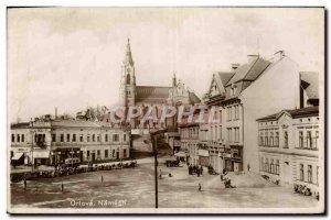 Old Postcard Orlova Namesti