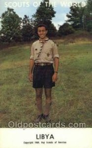 Libya Boy Scouts of America, Scouting Copyright 1968 Unused