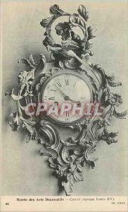Old Postcard Musee des Arts Decoratifs Cartel Louis XVI