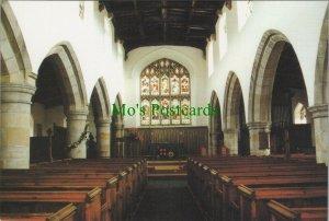 Yorkshire Postcard - St Oswald's Church, Askrigg, Wensleydale RR10381