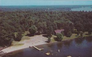 Aerial view,  Sparrow Lake Holiday Camp,  Peterbourough,  Ontario,  Canada,  ...
