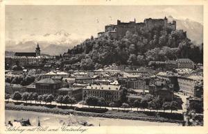 Salzburg mit Goell und Untersberg Gesamtansicht Panorama