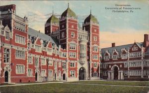 Dormitories University Of Pennsylvania Philadelphia Pennsylvania 1917