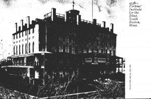 Massachusetts South Boston Perkins' Institute For The Blind