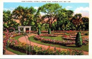 Missouri Kansas City Jacob L Loose Park Rose Garden