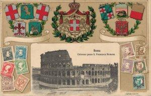 Italy Roma Colosseo preso S. Francesca Romana 03.42