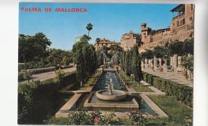 BF30357 palma de mallorca jardines del rey spain  front/back image