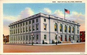 Montana Billings Post Office 1945 Curteich
