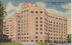 Ohio Toledo St Vincent's Hospital  Curteich