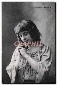 Old Postcard Fantaisie Marcelle Yrven