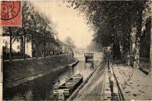 CPA Chalon sur Saone Canal du Centre FRANCE (952632)