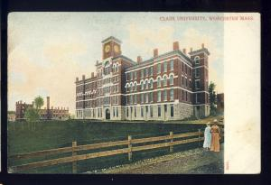 Worcester, Massachusetts/MA/Mass Postcard, Clark University