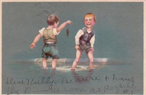 Two Boys & a Dead rat , 1908