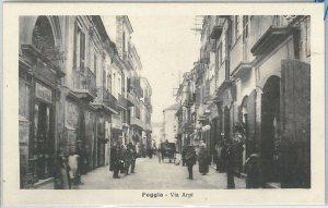 49749   CARTOLINA d'Epoca - FOGGIA citta' : Via ARPI