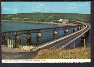 Bear River Bridge,Annapolis Valley,Nova Scotia,Canada BIN