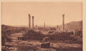 Tunisia Thuburbo-Majus Basilique Chretienne