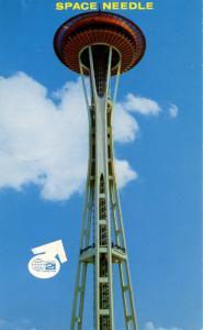 WA - Seattle, 1962. Seattle World's Fair (Century 21 Exposition). Space Needle