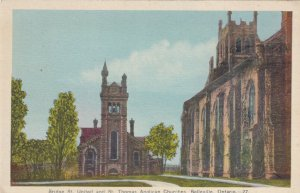 BELLEVILLE, Ontario, 00-10s; Bridge St. United & St. Thomas Anglican Churches