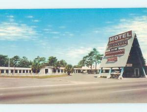 Pre-1980 MOTEL SCENE Brunswick Georgia GA AD8904