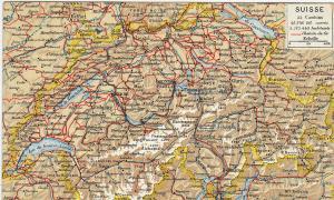 Map , SUISSE , 00-10s; Switzerland