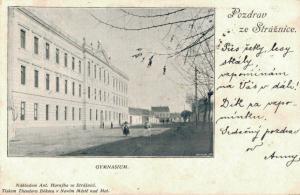 Czech Republic - Pozdrav ze Strážnice Gymnasium 02.60