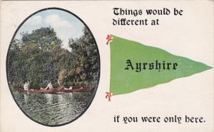Pennant Series Ayrshire Iowa 1915