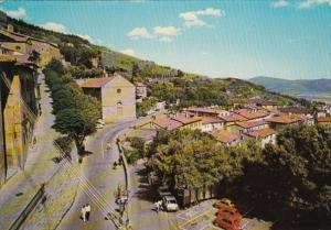 Italy Cortona Panorama